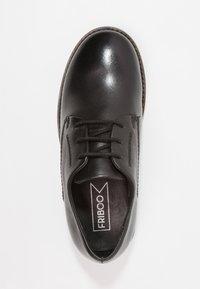 Friboo - Šněrovací boty - black - 1