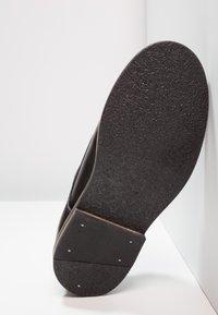 Friboo - Šněrovací boty - black - 4