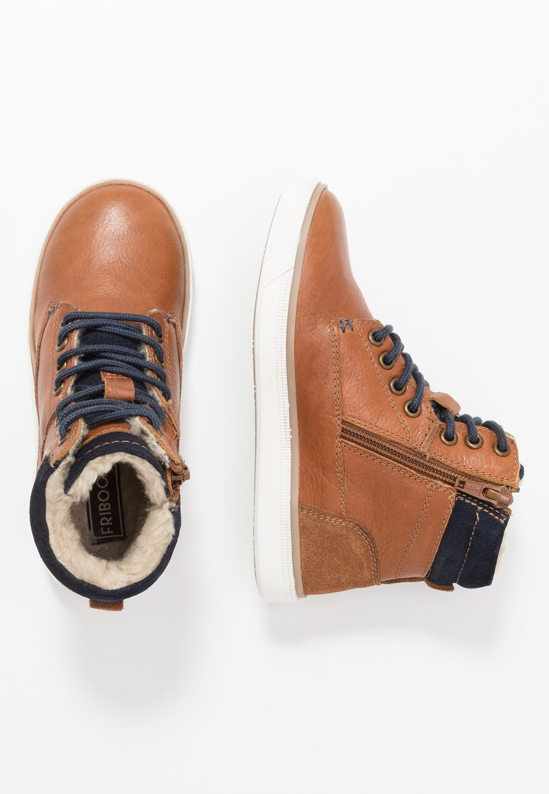 Friboo - Sneakers hoog - brown
