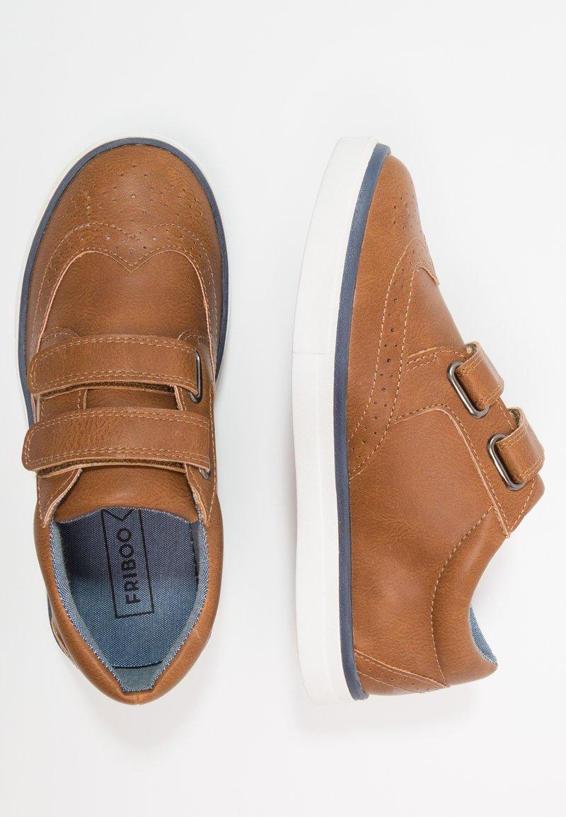 Friboo - Touch-strap shoes - cognac