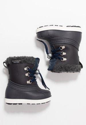 Zimní obuv - dark blue