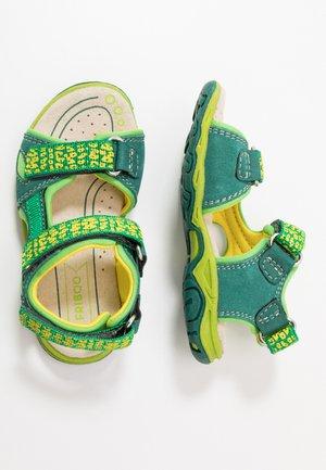Sandales de randonnée - green