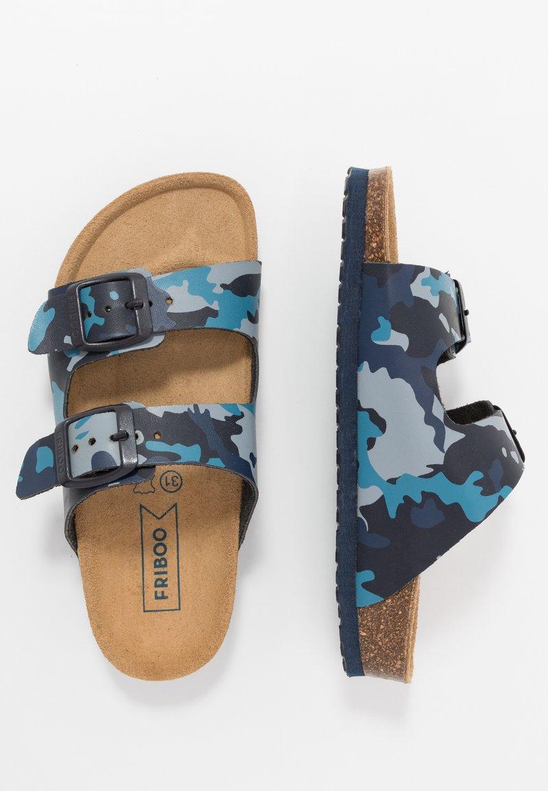 Friboo - Domácí obuv - blue