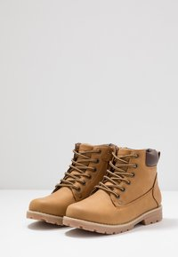 Friboo - Lace-up ankle boots - cognac - 3