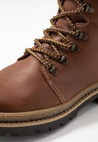 Friboo - Lace-up ankle boots - brown - 2