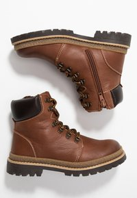 Friboo - Lace-up ankle boots - brown - 0