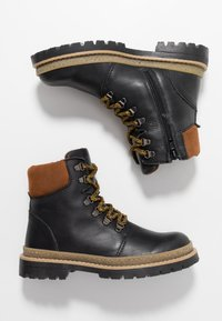 Friboo - Lace-up ankle boots - black - 0