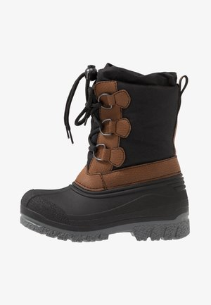 Winter boots - black/brown