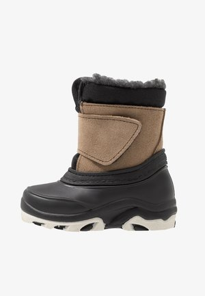 Snowboots  - dark blue/brown