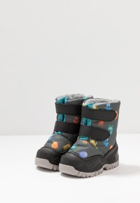 Friboo - Winter boots - black/petrol - 3