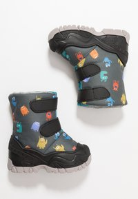 Friboo - Winter boots - black/petrol - 0