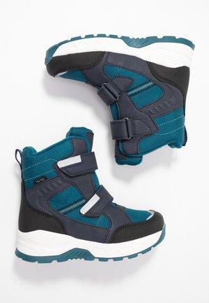 Vysoká obuv - dark blue/blue