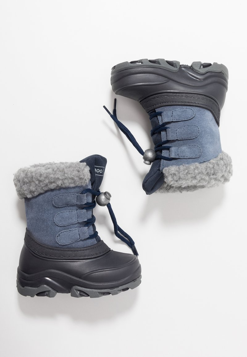 Friboo - Winter boots - blue grey/dark blue