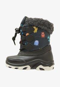 Friboo - Dětské boty - black/petrol - 1