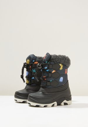 Baby shoes - black/petrol