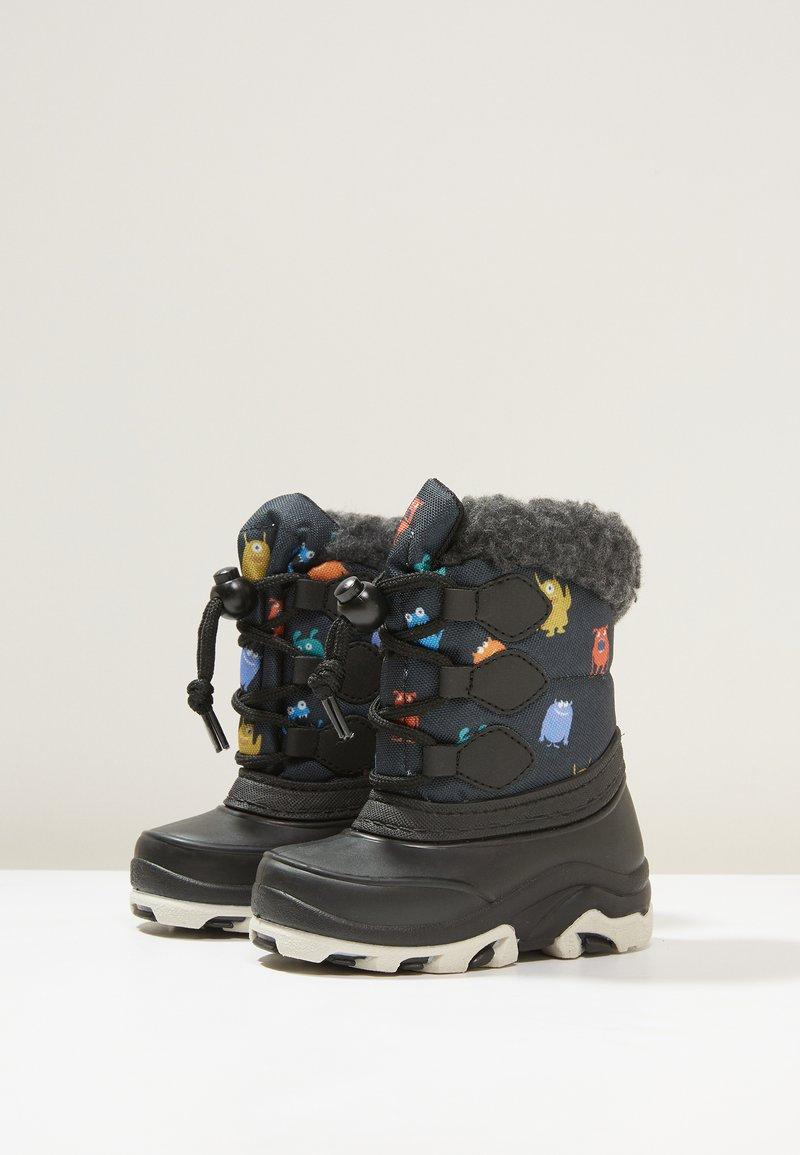 Friboo - Dětské boty - black/petrol