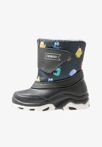 Friboo - Zimní obuv - black/petrol - 1