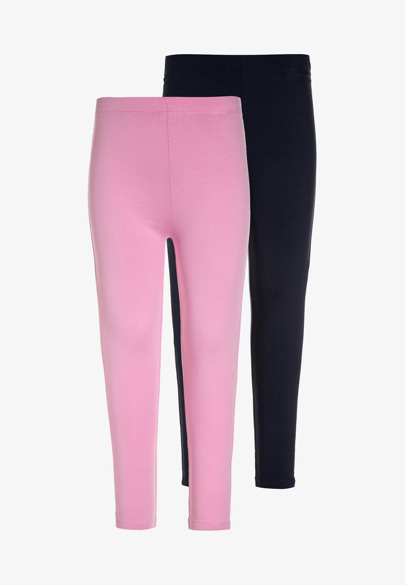 Friboo - 2 PACK - Leggings - Trousers - begonia pink/navy blazer