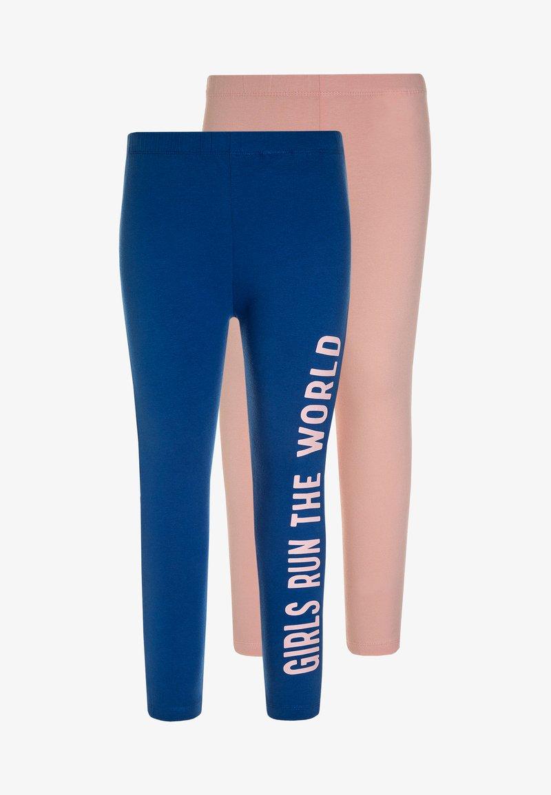 Friboo - 2 PACK - Legging - blue/pink