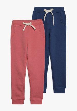 2 PACK  - Pantalon de survêtement - desert rose/true navy