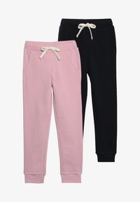 Friboo - 2 PACK - Pantalon de survêtement - cameo pink/black - 4