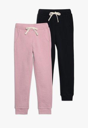 2 PACK - Träningsbyxor - cameo pink/black