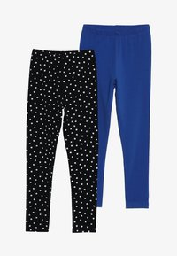 Friboo - 2 PACK - Leggings - Trousers - anthracite/nautical blue - 3