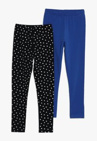 Friboo - 2 PACK - Leggings - Trousers - anthracite/nautical blue - 0