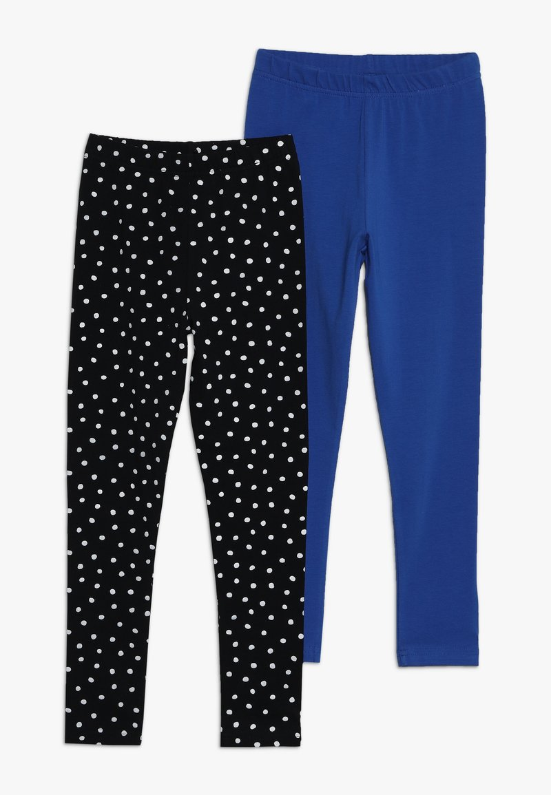 Friboo - 2 PACK - Leggings - Trousers - anthracite/nautical blue