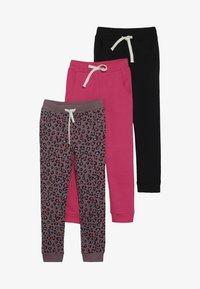 Friboo - 3 PACK  - Pantalon de survêtement - honeysuckle/deep taupe - 4