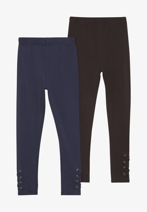 2 PACK - Legíny - darkblue/black