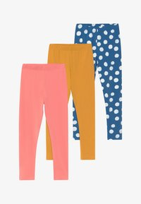 Friboo - GIRLS 3 PACK - Leggings - STRAWBERRY ICE - 3