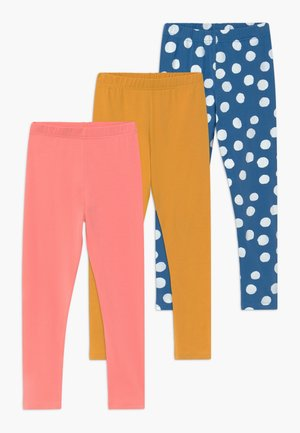 GIRLS 3 PACK - Leggings - Trousers - STRAWBERRY ICE