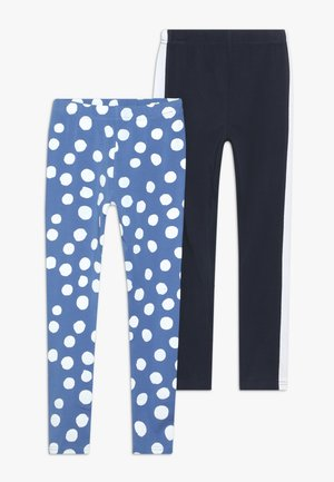 2 PACK  - Leggings - Trousers - palace blue/navy blazer