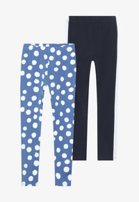 Friboo - 2 PACK  - Leggings - Trousers - palace blue/navy blazer - 3