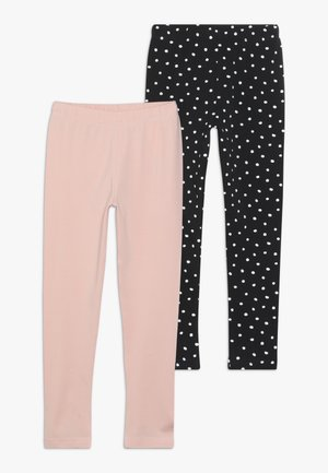 2 PACK - Legging - powder pink