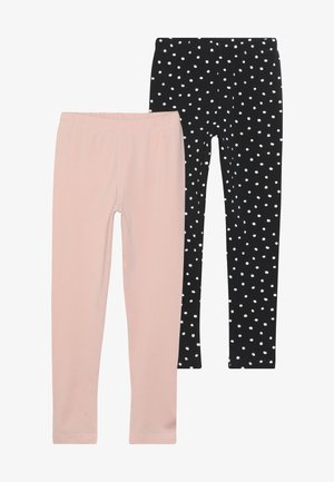 2 PACK - Leggings - powder pink