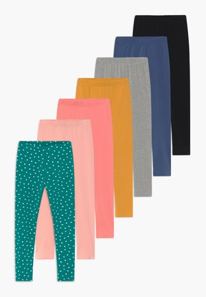 GIRLS 7 PACK   - Leggings - Hosen - multicoloured