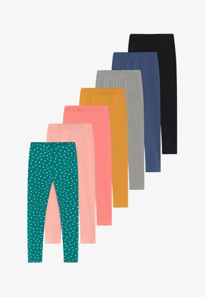 GIRLS 7 PACK   - Legíny - multicoloured