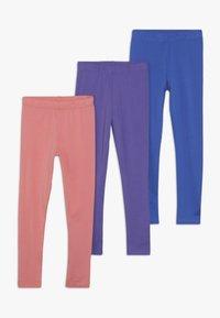 Friboo - 3 PACK - Legging - nautical blue/desert rose/ultraviol - 0
