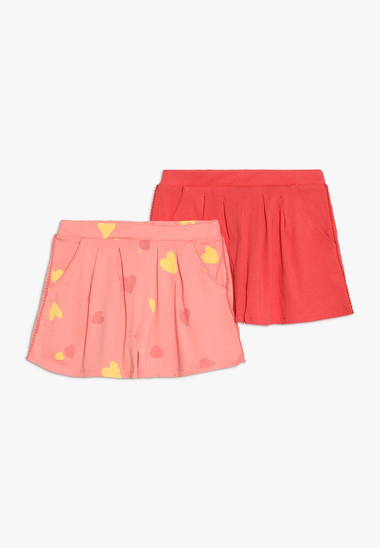 Friboo - 2 PACK - Shorts - pink/red