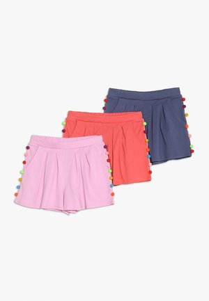 3 PACK - Shorts - red/pink/blue