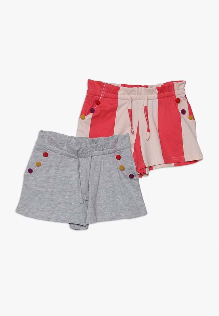Friboo - 2 PACK - Shorts - rose/pink/mottled light grey