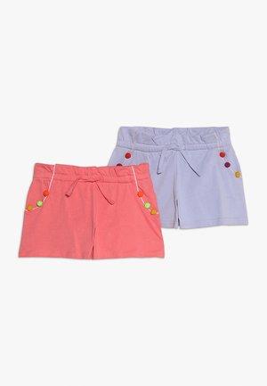 2 PACK - Shorts - light blue/pink