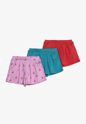 3 PACK - Short - pink/red/blue