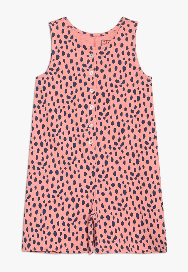 BUTTON PLACKET ALL IN ONE - Jumpsuit - strawberry ice