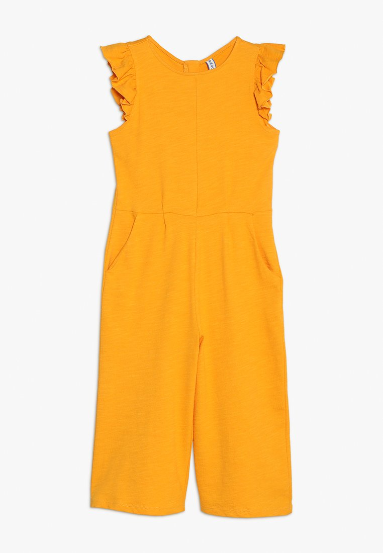 Friboo - FRILL SLEEVE - Overall / Jumpsuit - cadmium yellow