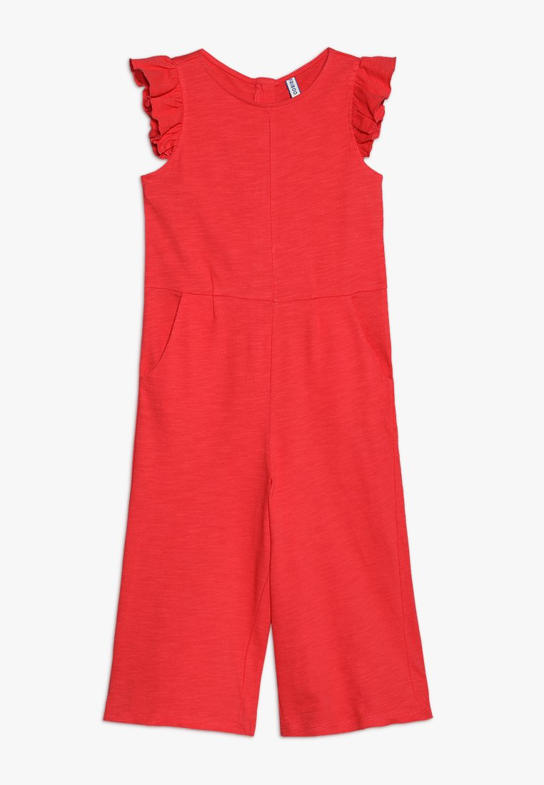 Friboo - FRILL SLEEVE - Jumpsuit - hibiscus