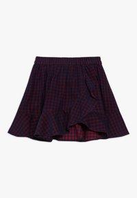 Friboo - Áčková sukně - red/navy - 0