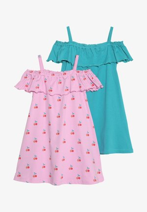 2 PACK - Jerseykleid - pink